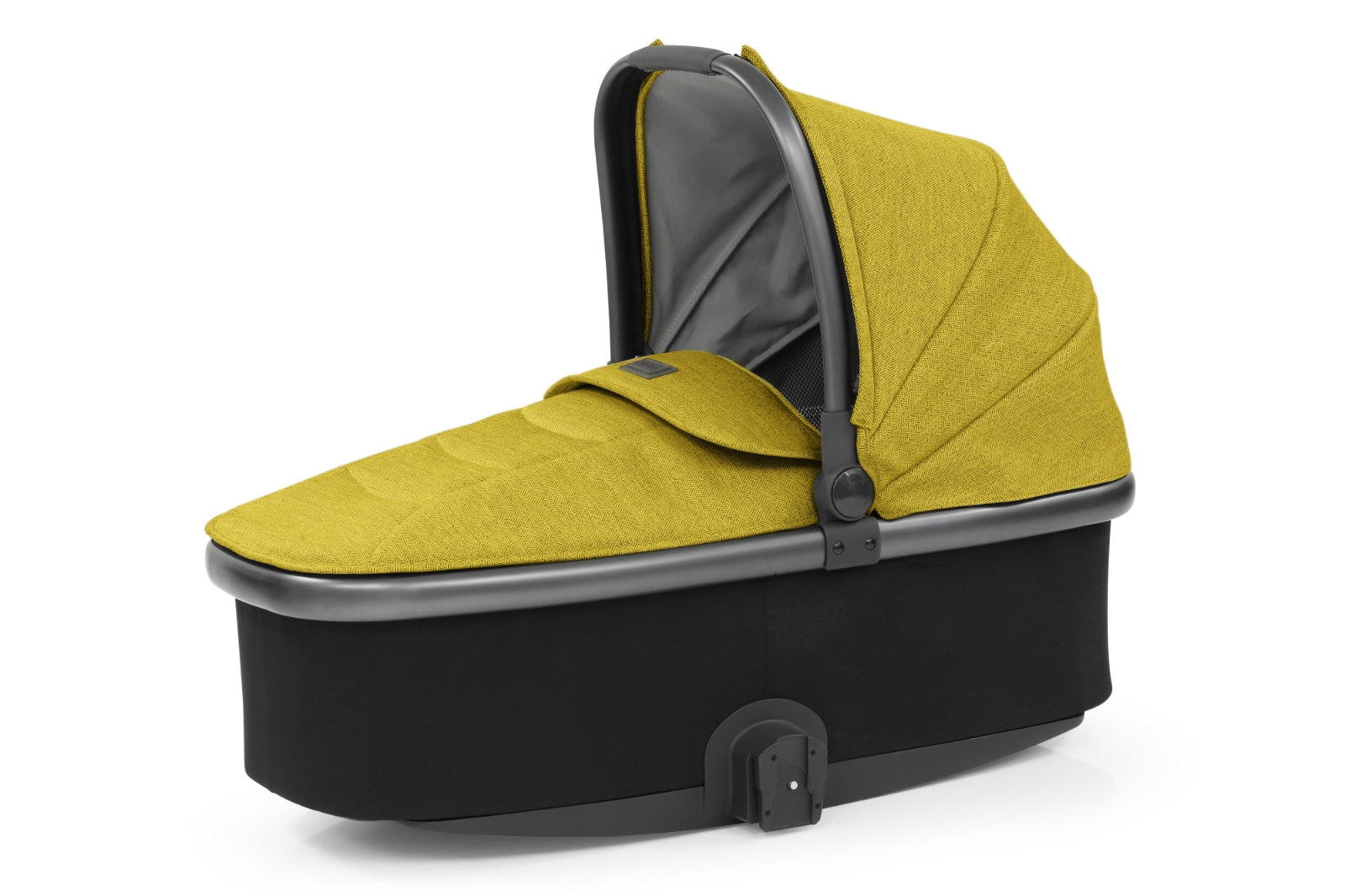 Babystyle Oyster 3 Carrycot (City Grey Chassis) - Mustard