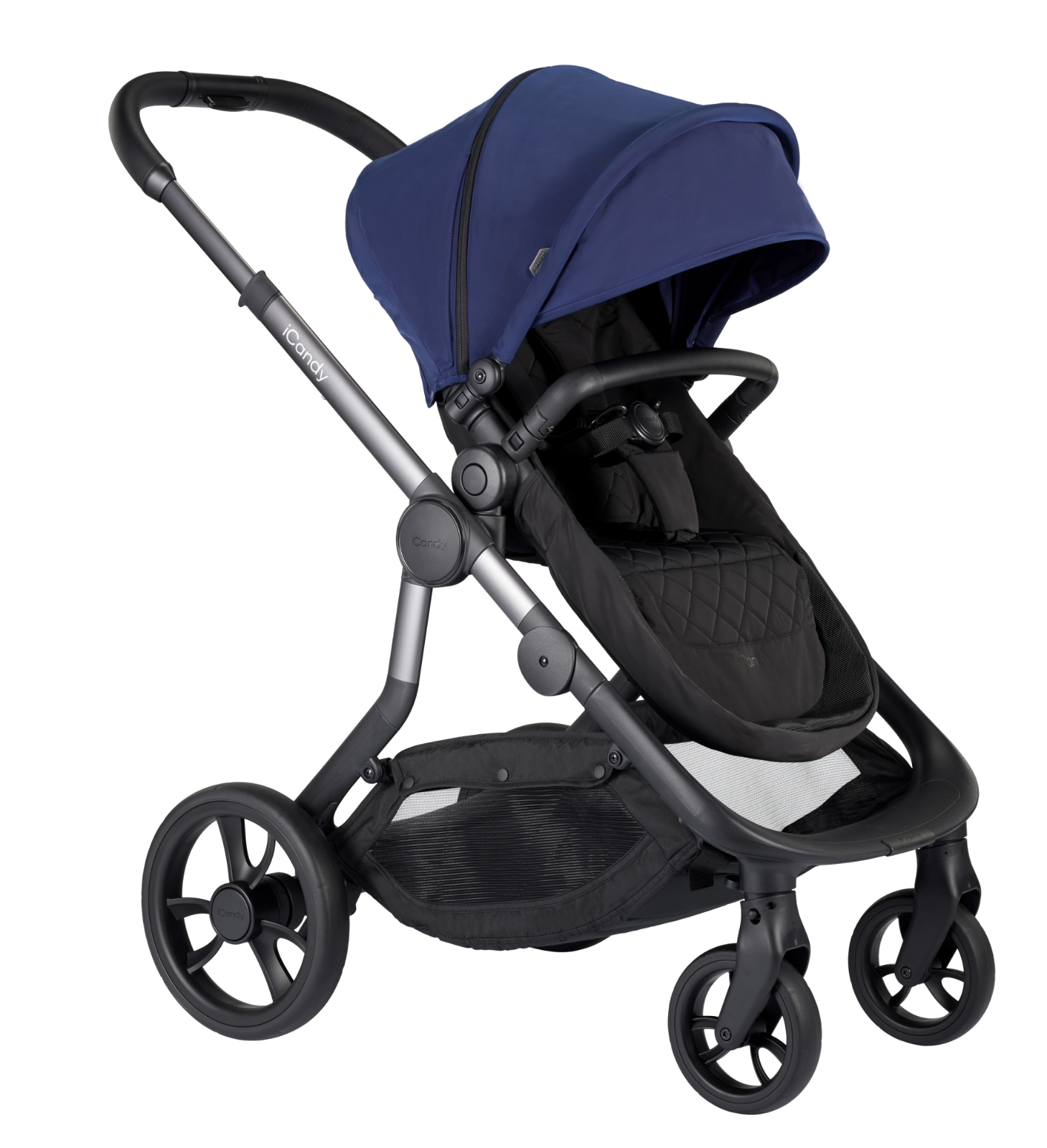iCandy Orange Pushchair & Carrycot - Indigo