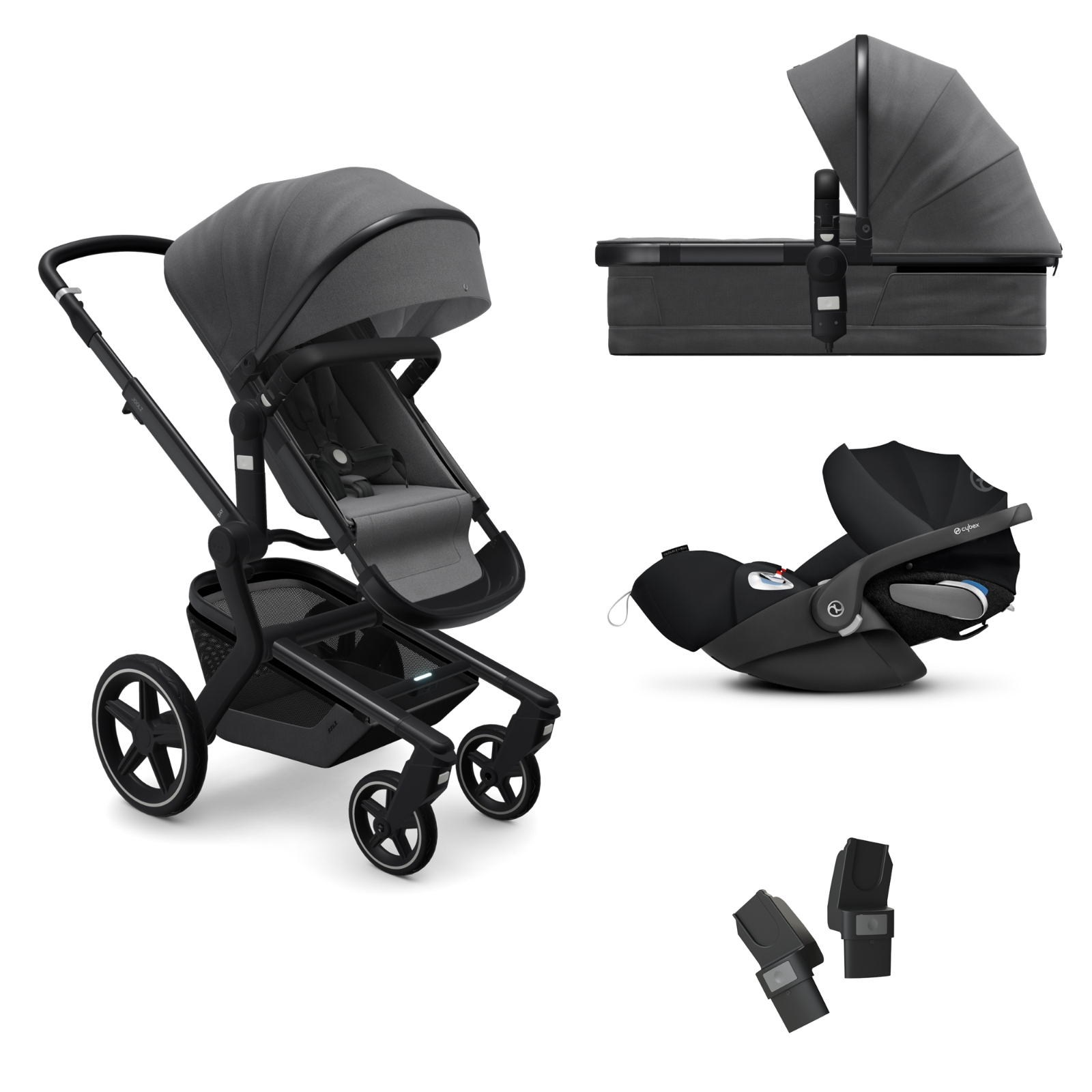 Joolz Day+ Cybex Bundle - Awesome Anthracite