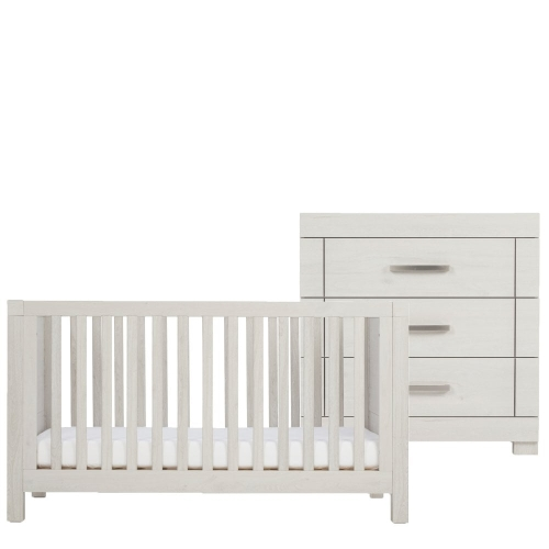 12-silver-cross-coastline-cot-bed-and-dresser