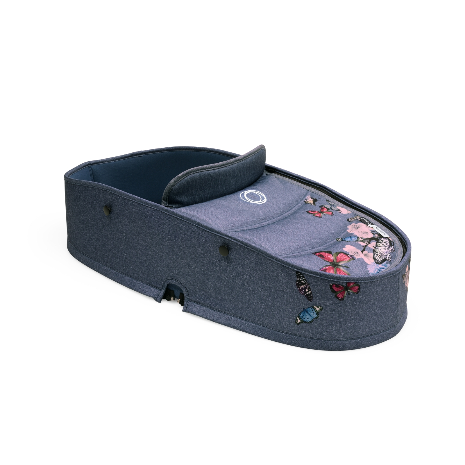 452aff492590 Bugaboo Bee 5 Carrycot Tailored Fabric Set - Botanic - £110.00 ...