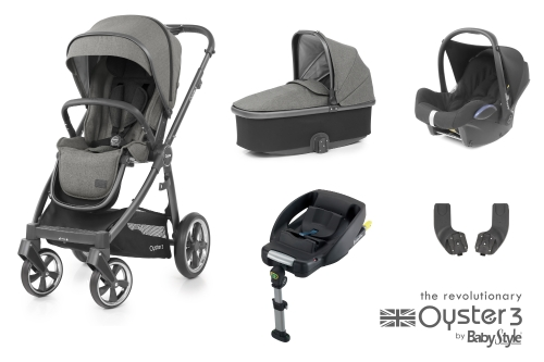 babystyle-oyster-3-essential-bundle-mercury-city-grey-chassis