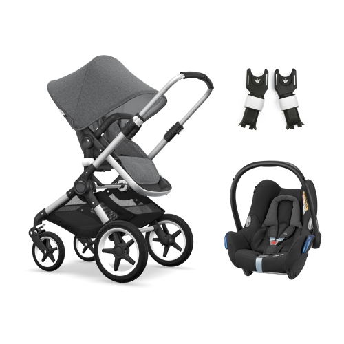 bugaboo-fox-alu-with-maxicosi-cabriofix-grey-melange