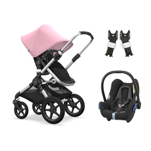 bugaboo-fox-alu-with-maxicosi-cabriofix-soft-pink