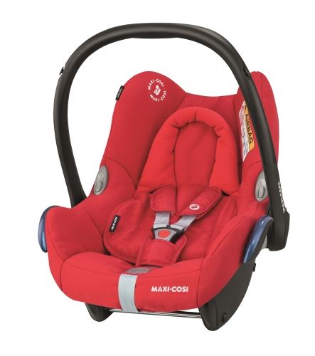 bugaboo-fox-black-with-maxicosi-cabriofix-soft-pink-nomad-red