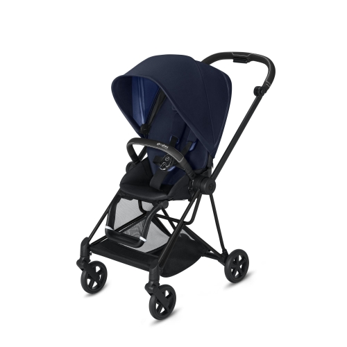 cybex-mios-matt-black-indigo-blue