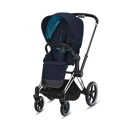 cybex-priam-chrome-black-handle-nautical-blue