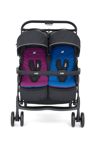 joie-aire-twin-stroller-rosy-sea