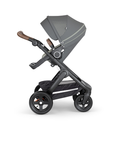 stokke-trailz-black-chassis-with-all-terrain-wheelsbrown-leatherette-handle-athleisure-green