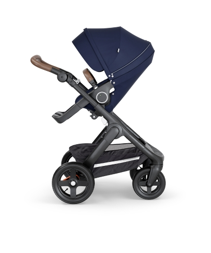 stokke-trailz-black-chassis-with-all-terrain-wheelsbrown-leatherette-handle-deep-blue