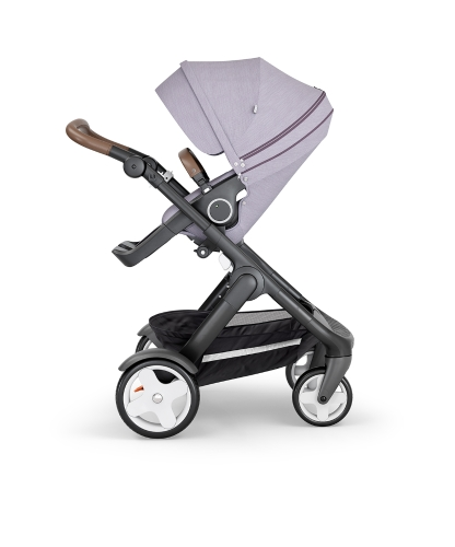 stokke-trailz-black-chassis-with-classic-wheelsbrown-leatherette-handle-brushed-lilac