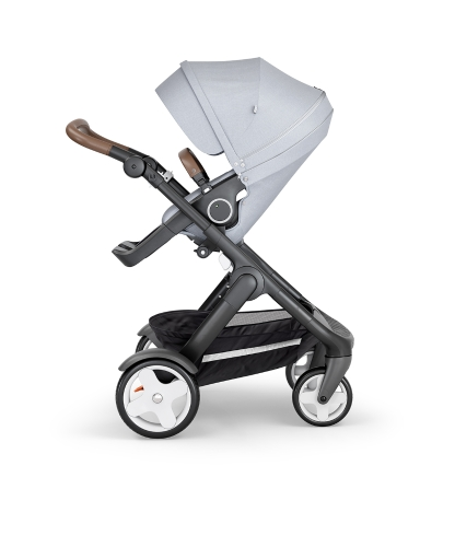 stokke-trailz-black-chassis-with-classic-wheelsbrown-leatherette-handle-grey-melange