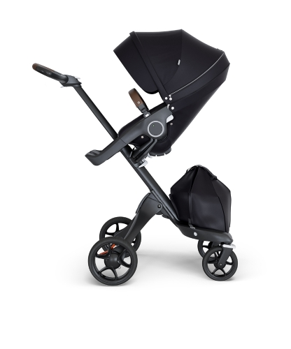 stokke-xplory-v6-black-chassis-brown-handle-black