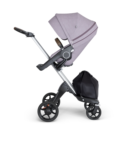 stokke-xplory-v6-silver-chassis-brown-handle-brushed-lilac